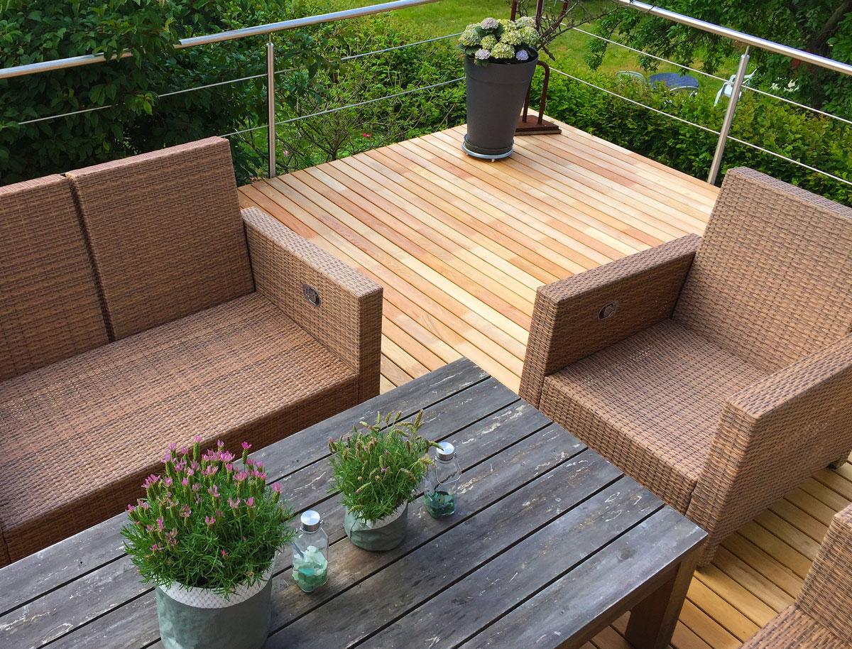 Terrassendielen Robinie bester Preis