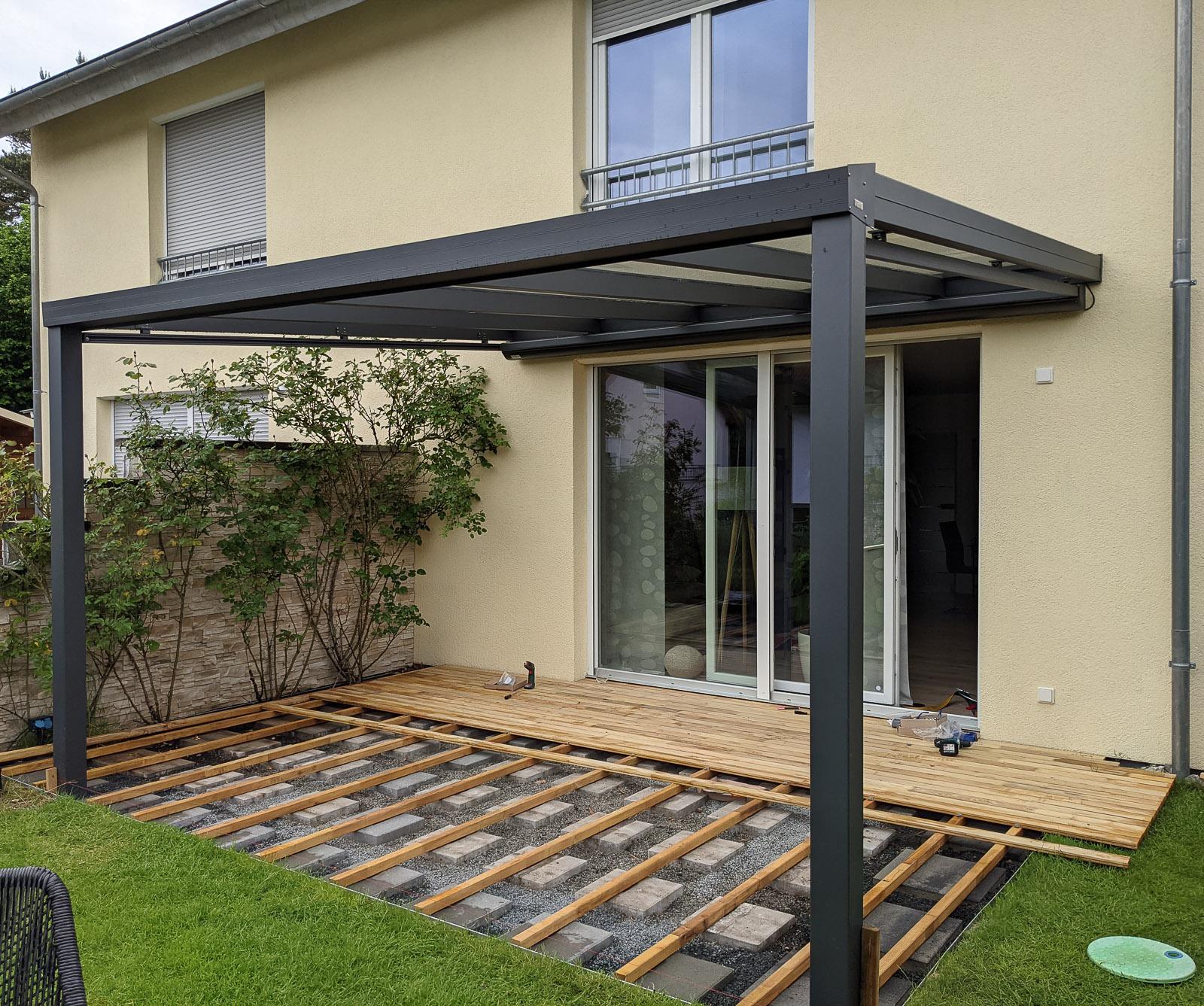 Verlegen der Terrasse mit unserem Clip-Fixx-System